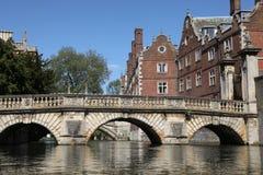 Cambridge Fotografía de archivo libre de regalías