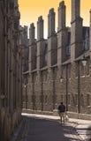 Cambridge - alte Straße Stockbilder
