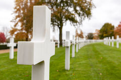 Cambridge American Cemetery and Memorial Royalty Free Stock Photos