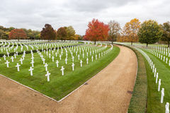 Cambridge American Cemetery and Memorial Stock Image