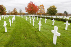 Cambridge American Cemetery and Memorial Royalty Free Stock Images