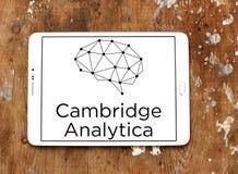 Cambridge Analytica logo Fotografering för Bildbyråer