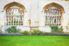 Cambridge architecture Royalty Free Stock Photo