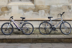 Cambridge Bicycles Royalty Free Stock Photos
