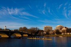 Cambridge in Boston Stock Image