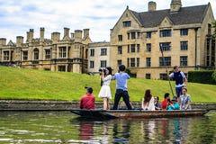 Cambridge, Cambridgeshire, England. Stock Photos