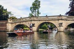 Cambridge, Cambridgeshire,  England. Royalty Free Stock Photography