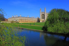 Cambridge Campus Stock Image