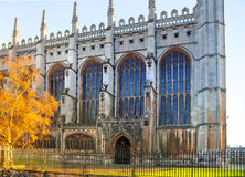Cambridge Cathedral in King college Royalty Free Stock Photography