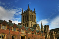 Cambridge College Royalty Free Stock Photography