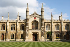 Cambridge college. Interior of a college in the university of Cambridge Royalty Free Stock Photo