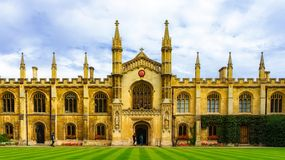 Cambridge college Stock Photos