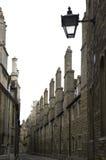 cambridge college zewnętrznych trójkowy uniwersytet wall Fotografia Stock