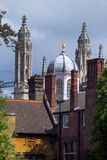 Cambridge - dreaming spires. Of this ancient university City Stock Images