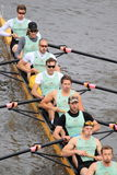 Cambridge eight - 100th Primatorky rowing race Stock Photo