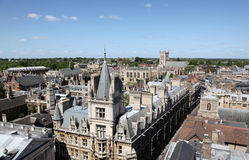 cambridge england Arkivfoton