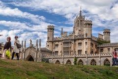 Cambridge England Historical Building Stock Photography