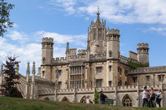 Cambridge England Historical Building Royalty Free Stock Photography