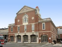 Cambridge Fire department Stock Photography