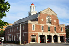 Cambridge Fire Department near Harvard Yard Stock Photography