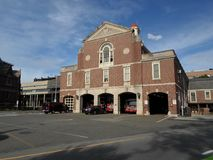 Cambridge Fire Headquarters, Cambridge, Massachusetts, USA. Cambridge Fire Headquarters right outside Harvard yard in Cambridge, Massachusetts, USA Stock Image