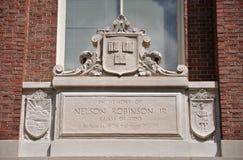 cambridge harvard överstyckeuniversitetar USA arkivbilder