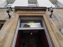 CAMBRIDGE, HET UK - CIRCA OKTOBER 2018: Eagle Pub waar DNA-de ontdekking in 1953 door wetenschappers van Cavendish werd aangekond royalty-vrije stock fotografie