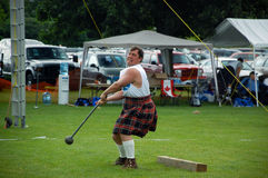 Cambridge Highland Games 2009 Royalty Free Stock Photo