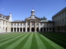 Cambridge: Historic Building at University Stock Photography