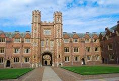 Cambridge-Hochschule Lizenzfreie Stockfotografie
