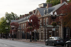 Cambridge houses in boston Stock Photos