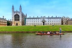 CAMBRIDGE kanał Obraz Royalty Free