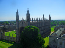 cambridge kaplicy szkoły wyższa królewiątko s Obraz Royalty Free