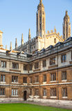 Cambridge, King's college (started in 1446 by Henry VI). Historical buildings Stock Image