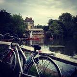 Cambridge kochankowie Zdjęcie Royalty Free