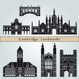 Cambridge landmarks and monuments Stock Photography
