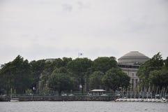 Cambridge, le 30 juin : MIT de la ville de Cambridge vue de Charles River dans l'état de Massachusettes des Etats-Unis Image libre de droits