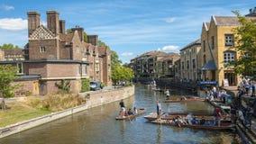 Cambridge University City stock photography