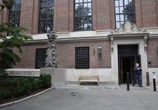 Cambridge mA, el 30 de junio: Biblioteca de Harvard Widener del campus de Harvard en el estado de Cambridge Massachusettes de los Imágenes de archivo libres de regalías
