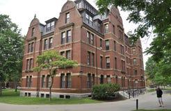 Cambridge mA, el 30 de junio: Suelde con autógena el edificio de Pasillo del campus de Harvard en el estado de Cambridge Massachu Imagenes de archivo