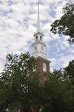 Cambridge mA, el 30 de junio: Torre de iglesia conmemorativa del campus de Harvard en el estado de Cambridge Massachusettes de lo Fotografía de archivo libre de regalías