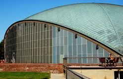 Cambridge, MA: Kresge Auditorium at M.I.T. Royalty Free Stock Images