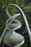 Cambridge metal statue pillar in detail Royalty Free Stock Images