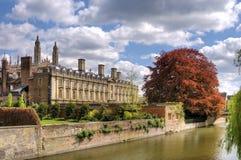 Cambridge miasto sceniczny widok Zdjęcia Royalty Free