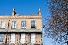 Cambridge mieszkania Zdjęcia Royalty Free