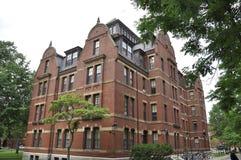 Cambridge MOR, 30th juni: Harvard svetsningsHall byggnad från den Harvard universitetsområdet i den Cambridge Massachusettes stat Royaltyfria Foton