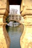 Cambridge mostu zdjęcia royalty free