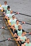 Cambridge ocho - 100a raza del rowing de Primatorky Foto de archivo