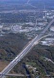 Cambridge Ontario, aéreo Fotos de archivo libres de regalías