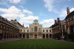 Cambridge - Peterhouse College Stock Photos